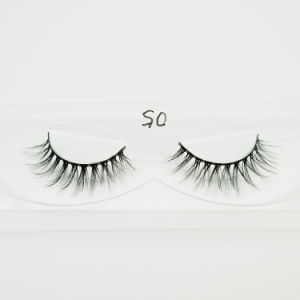 8de2581c615 China Synthetic Silk Lashes Faux Mink 3D Fiber False Eyelashes ...