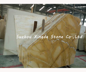 H&Q Yellow Onyx Stone Slab