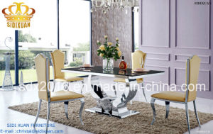 Hot Sale 2016 Dining Sets Sj806 and Chair Cy213z pictures & photos