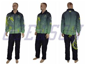 Hot Sell Sport Polyester Tricot Tracksuit pictures & photos
