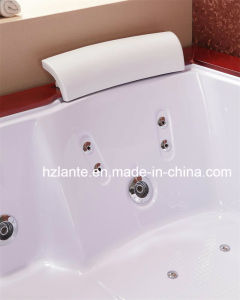 2 Person Water Massage Wooden Bathtub (TLP-666-Acrylic Skirt) pictures & photos