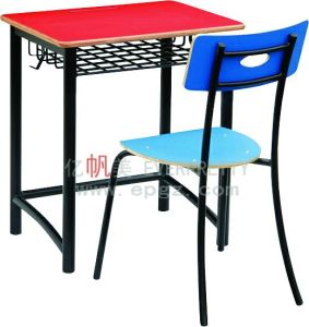 School Furniture HPL Student Desk and Chair Student Chair School Desks Compact Desk pictures & photos
