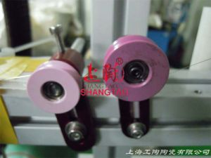 Al2O3 Ceramic Pulleys and Rollers with Bearings pictures & photos