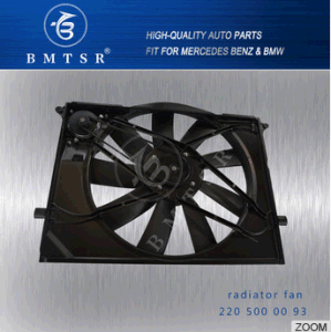 Hight Quality Car Spare Parts Radiator Fan From China Bmtsr OEM 2205000093 for Mercedesbenz W220 pictures & photos