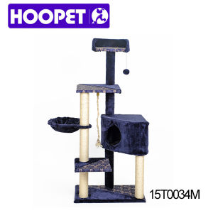 Deluxe DIY Cat Tree Climbing Rope Toys Scratch Posts for Cat