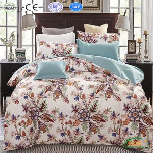 China Classic Bedding Set King Queen Size Grey Blue Flower Bed Linen 3 4pcs Set Duvet Cover Bed Sheet China Bedspread For Bed And Home Bedding Set Price