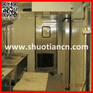 Metal Commercial Kitchen Swing Doors (ST-006) pictures & photos