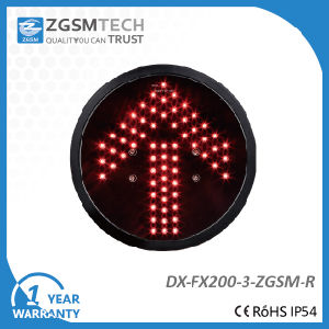 200mm Red Arrow Aspect LED Signal Modules