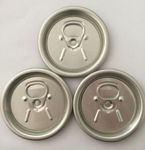 Mumbai 200# 52mm Butter Aluminum Can Lids pictures & photos