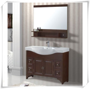 Home Wooden Bathroom Sets with Mirror pictures & photos
