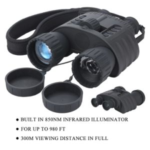 4X50 Digital Night Vision Binoculars with 1.5′′ TFT LCD 350m Range Take 5MP Photo & 720p Video IR Hunting Camera Bestguarder Wg-80 pictures & photos