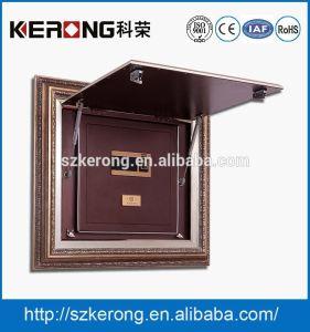 RoHS Wall Hidden Home Furniture Steel Biometric Fingerprint Touch Safe