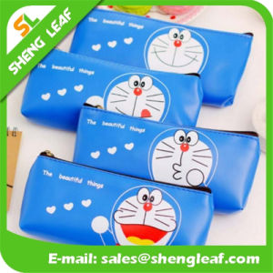 Wholesale Printing Logo Pen Bag with Zipper Different Colors (SLF-PB008)