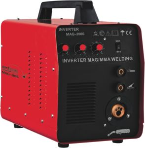 DC Inverter IGBT MMA/ MIG Welding Equipment (MAG-200S)