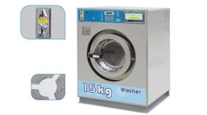 Full Stainless Steel Automatic Coin Operated Washing Machine for Laundry pictures & photos