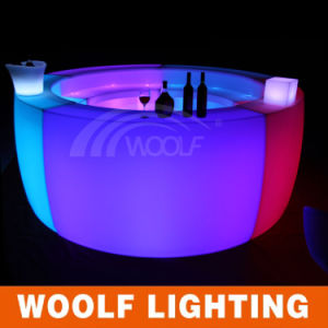 Modern Life Party LED Home Bar Counter Design