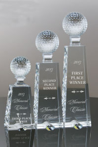 Big Easy Crystal Golf Award Trophy pictures & photos