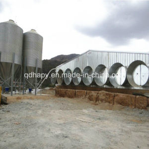 Hapy Prefabricated Steel Frame Poultry and Chicken House pictures & photos