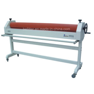 "TSS1600 1600mm (63"") Manual Cold Laminator Machine with Stand pictures & photos"