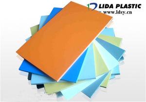 PVC Light Green Sheet pictures & photos