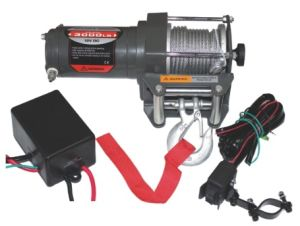 CM3000-A 12V Economic Winch for ATV pictures & photos