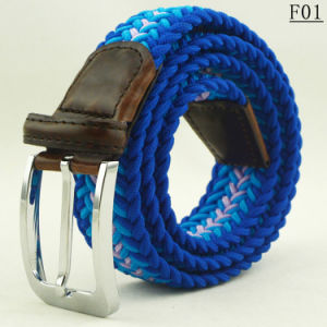 China F01 Charming Custom Hot Selling Braided Mens Fashion Belts