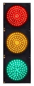 300mm 12 Inch Red Yellow Green LED Traffic Light