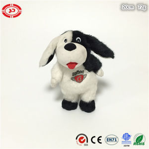 Plush High Quality Soft Dog with Embroidery Fancy Custom Toy