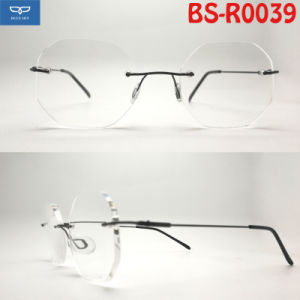 dde93f7eb9d6 OEM Customized Design New Shape Reading Glasses Frames with Spring Hinge  Super Slim Temple Cheap Price