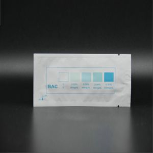 Alcohol Personal Saliva Urine Test Alcohol Test Paper pictures & photos