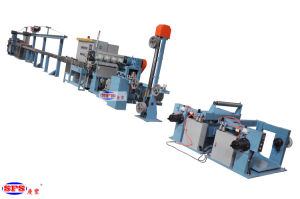 70+35 Halogen Free Cable Extrusion Line pictures & photos
