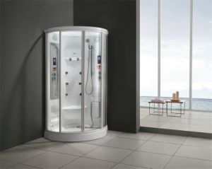 Monalisa Green Glass Deluxe Steam Room Shower Box (M-8225) pictures & photos