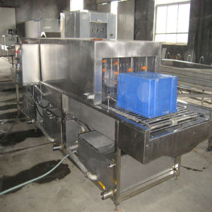 Food Industry Turnover Basket Washing Machine pictures & photos