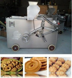 200kg/H Large Capacity High Quality Diverse Molds Double-Color Cookies Extruder Machine pictures & photos