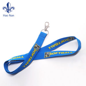 Hot Sale Polyester Personalized Lanyard with Hook pictures & photos