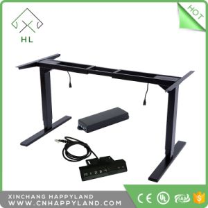 china happyland office furniture dual motor electric height