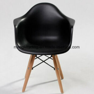 Kids Size Armchair Chair Plastic Seat Natural Wood Wooden Legs Childrens Room Chairs Molded Plastic Chair & China Kids Size Armchair Chair Plastic Seat Natural Wood Wooden Legs ...