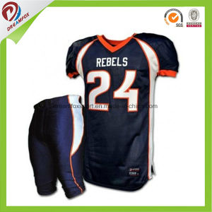 76086b071 Custom Design Sublimated Printing Wholesale Customized Blank American  Football Jersey