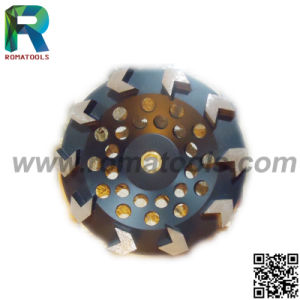 6 Inch Turbo Segment Diamond Grinding Cup Wheel for Stone