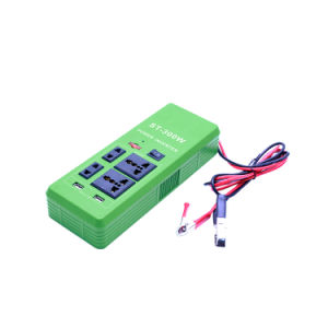 Intelligent 12V DC to 220V AC 300W Car Power Inverter
