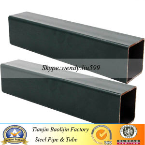 Q345 Construction Material Black Annealing Square Steel Pipe pictures & photos
