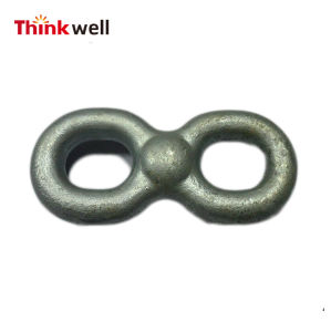 Forged Galvanized Steel Double Eye Connecting Chain Link pictures & photos