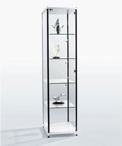 Superb Hot Sale New Design Glass Display Cabinet With LED Light