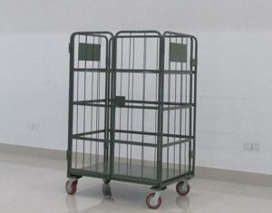 Foldable Wiremesh Roll Container of High Quality pictures & photos