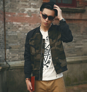 Camo Fashion Brand New Young Men Waterproof Jacket pictures & photos