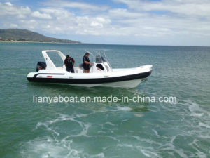 Liya Factory Direct Supply 2.4m to 8.3m Semi Rigid Boat China Inflatable Rib Boat pictures & photos