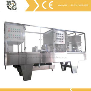 Cup Filling Sealing Machine (pre-cut Aluminum lid sealing) pictures & photos