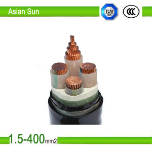0.6/1kv Copper (Aluminum) XLPE Insulated PVC Sheathed Power Cable pictures & photos