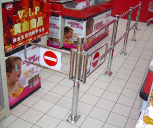 Checkout Counter Gate for Supermarket pictures & photos