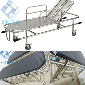 Medical Appliances Comfortable Folding Ambulance Stretcher pictures & photos